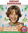 Art A La Carte: Nature's Beauty Gr. 4-7 - eBook