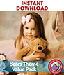 Bears Theme VALUE PACK Gr. PK-2 - eBook