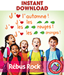 Rébus Rock (French) Gr. K-2 - eBook