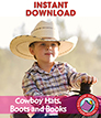 Cowboy Hats, Boots and Books Gr. K-2 - eBook