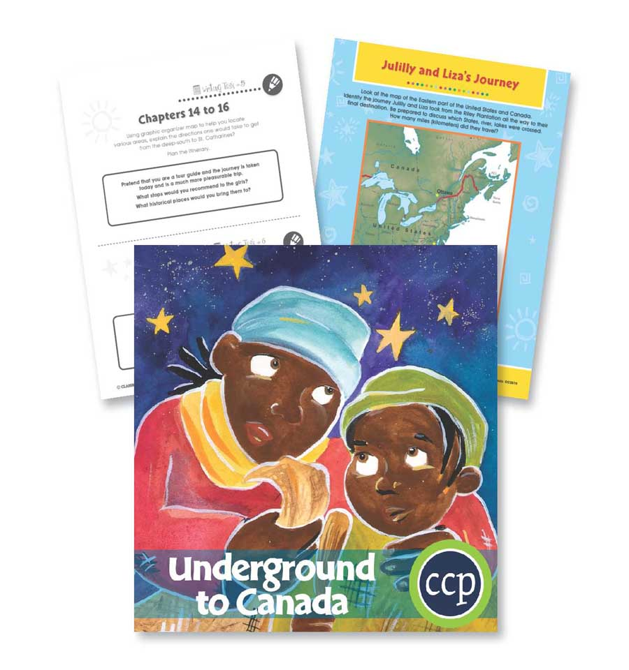 Underground to Canada: Mapping a Journey Gr. 5-6 - WORKSHEETS - eBook