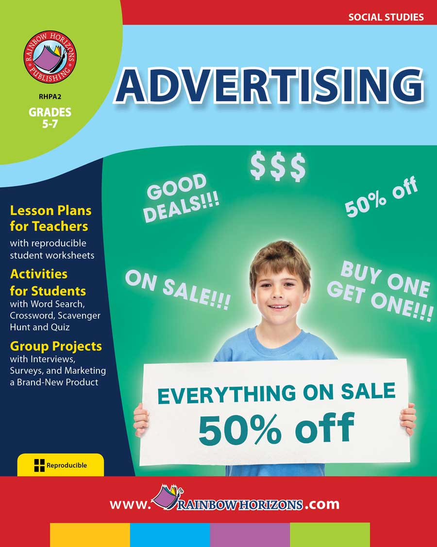 Advertising Gr. 5-7 - print book
