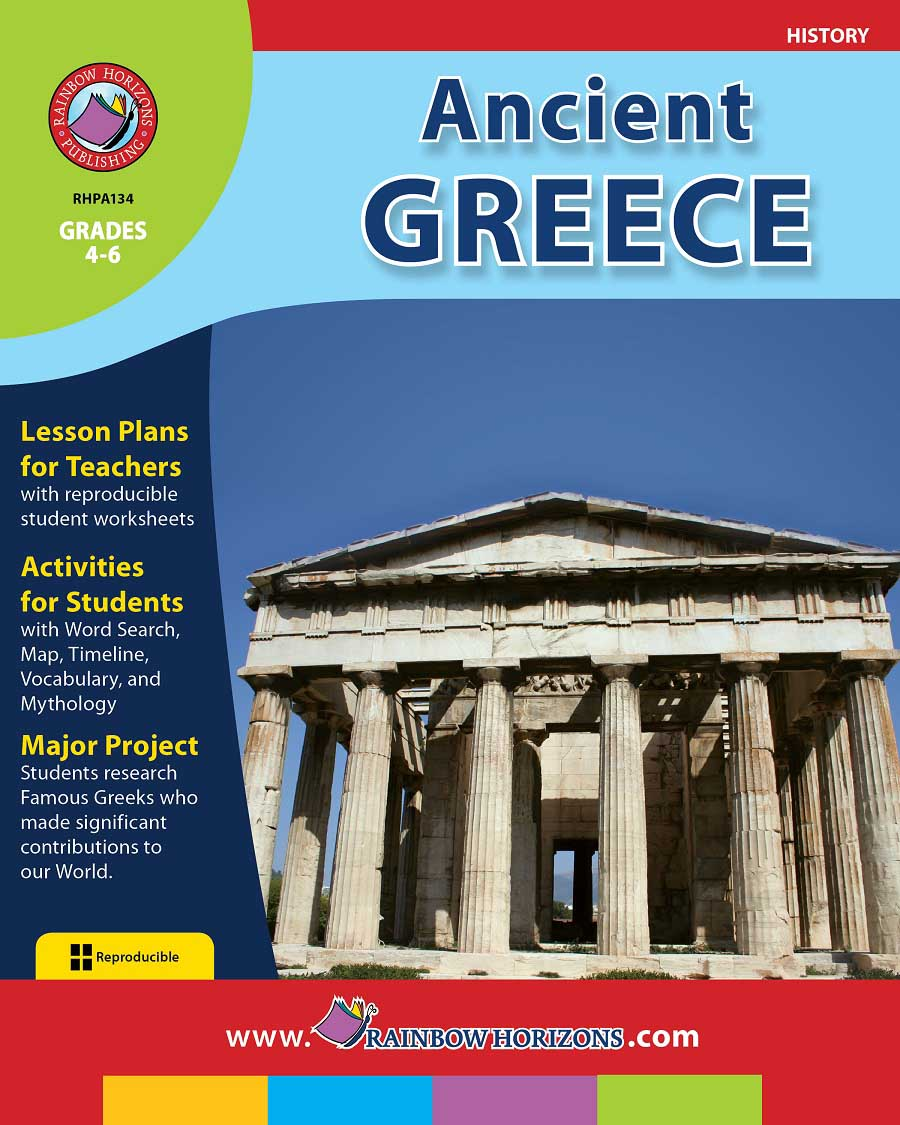 Ancient Greece Gr. 4-6 - print book