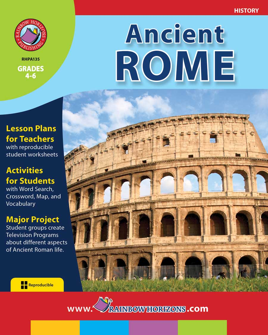 Ancient Rome Gr. 4-6 - print book