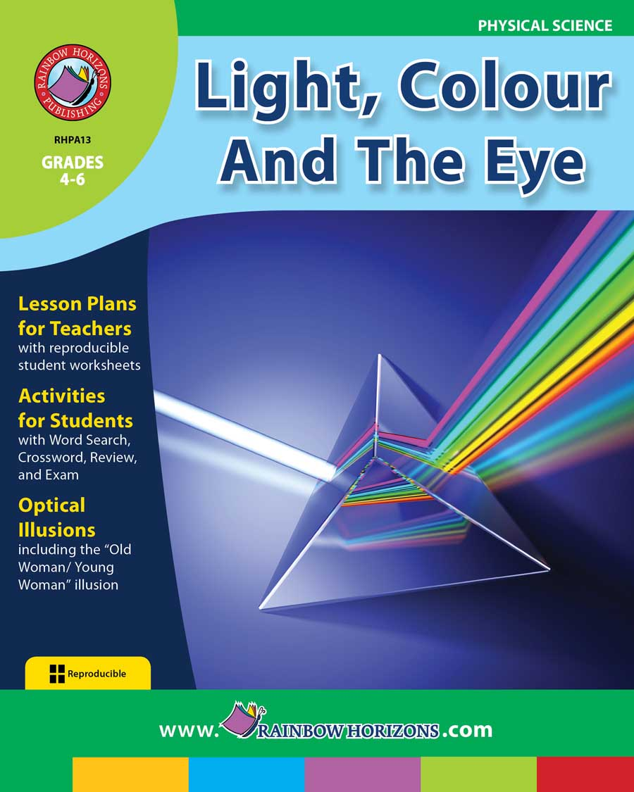 Light, Colour And The Eye Gr. 4-6 - print book