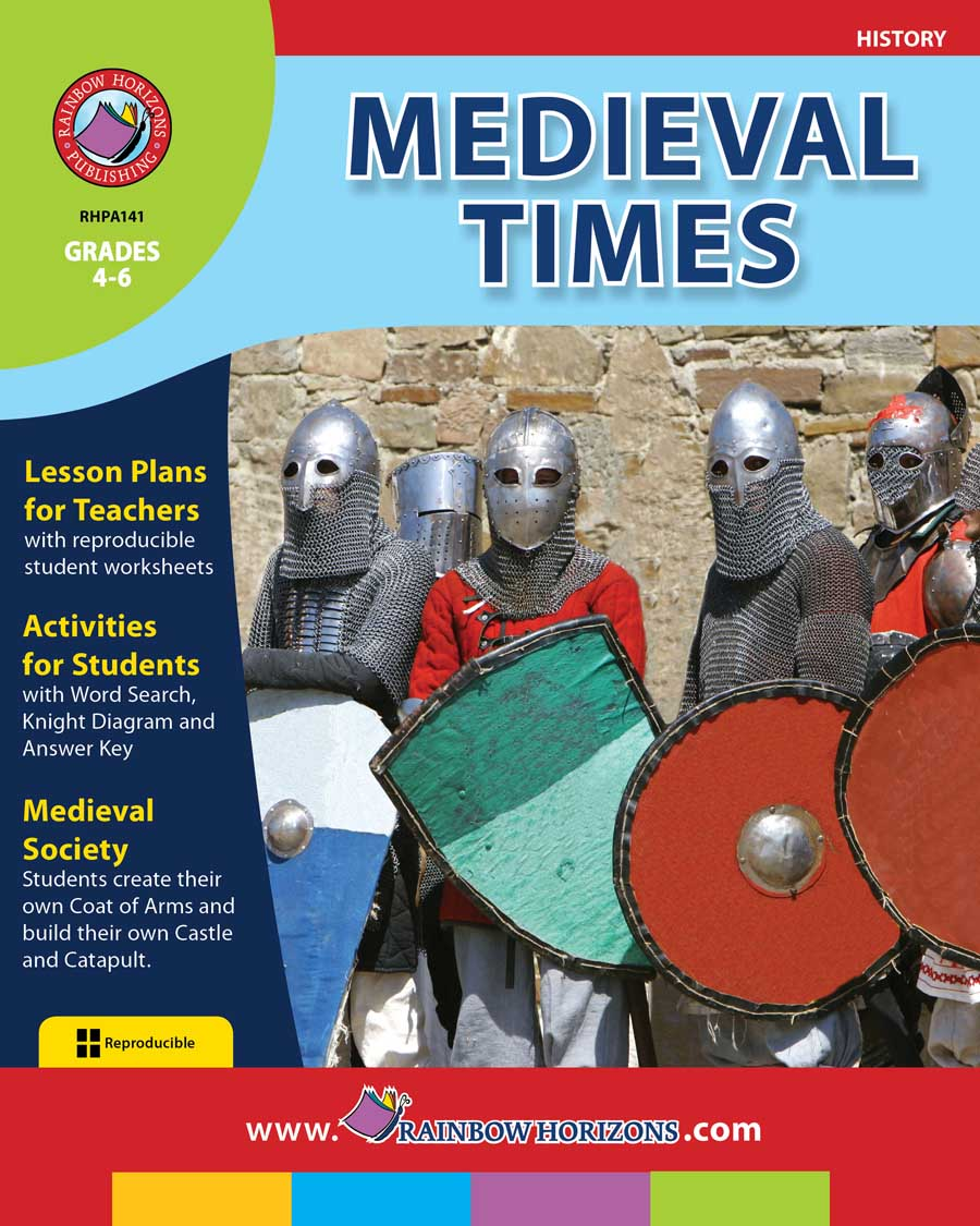 Medieval Times - Grades 4 to 6 - Print Book - Lesson Plan - CCP ...