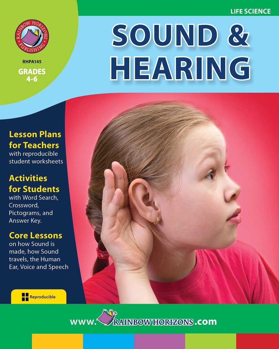 Sound And Hearing Gr. 4-6 - print book
