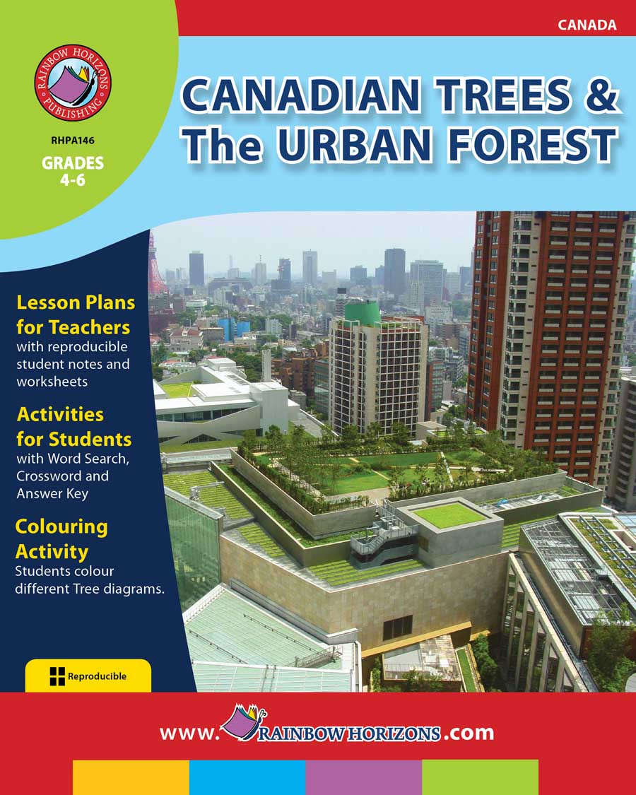Canadian Trees & The Urban Forest Gr. 4-6 - print book