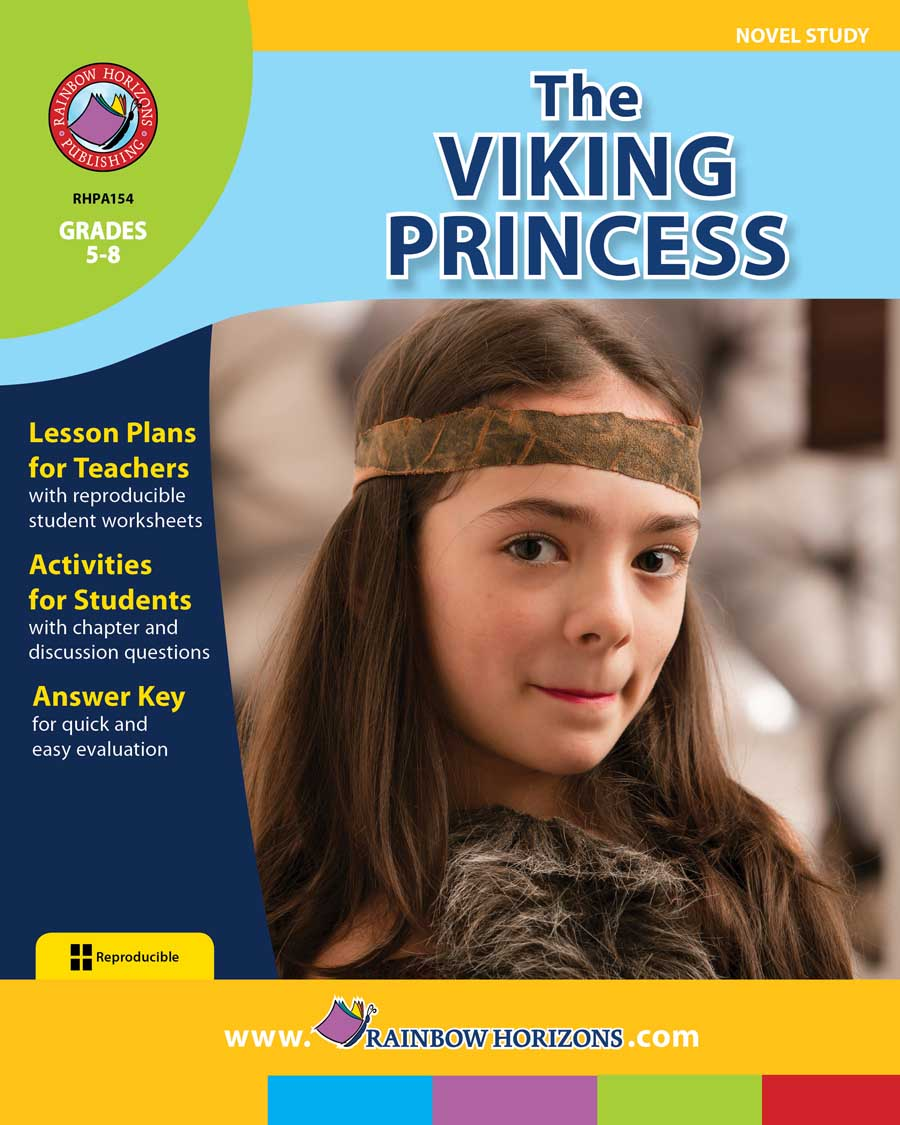 The Viking Princess (Novel Study) Gr. 5-8 - print book