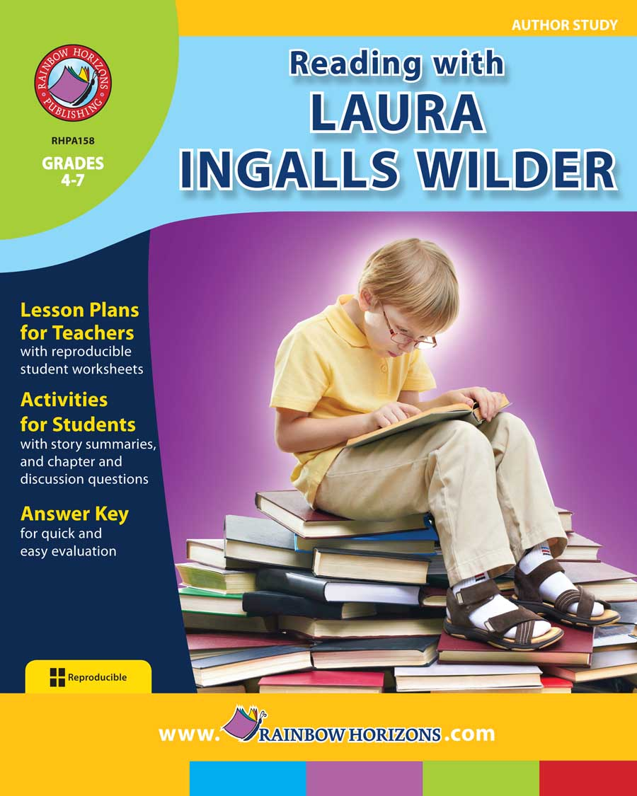 Reading with Laura Ingalls Wilder (Author Study) Gr. 4-7 - print book