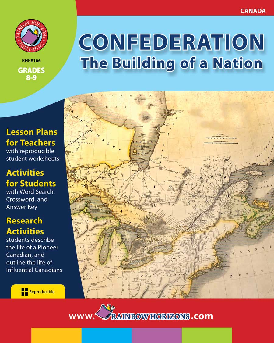 Confederation: The Building of a Nation Gr. 8-9 - print book