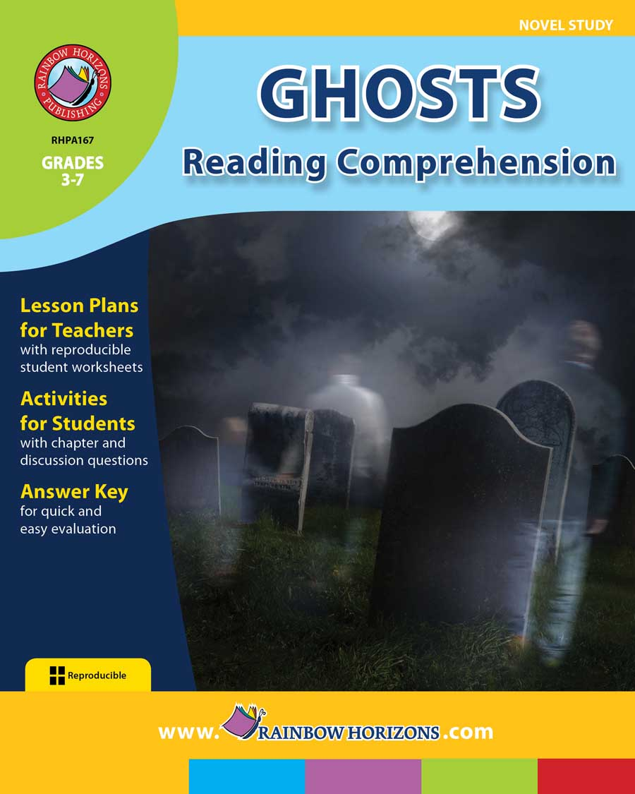 Ghosts: Reading Comprehension (Novel Study) Gr. 3-7 - print book