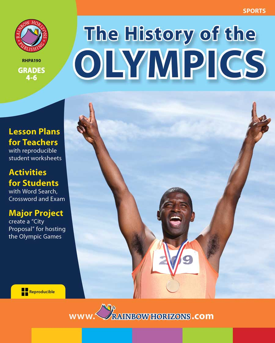 The History of the Olympics Gr. 4-6 - print book