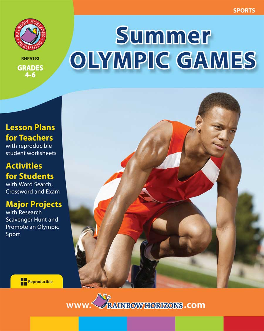 Summer Olympic Games Gr. 4-6 - print book