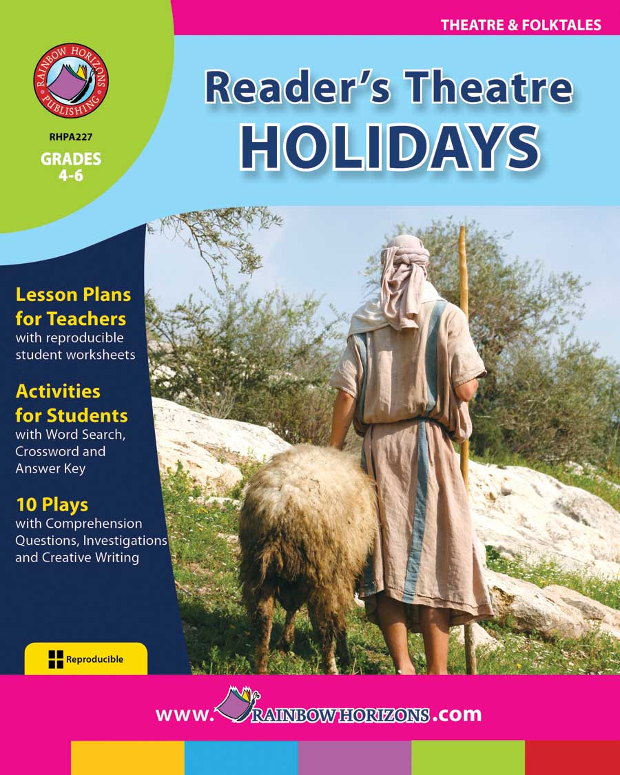 Reader's Theatre: Holidays Gr. 4-6 - print book