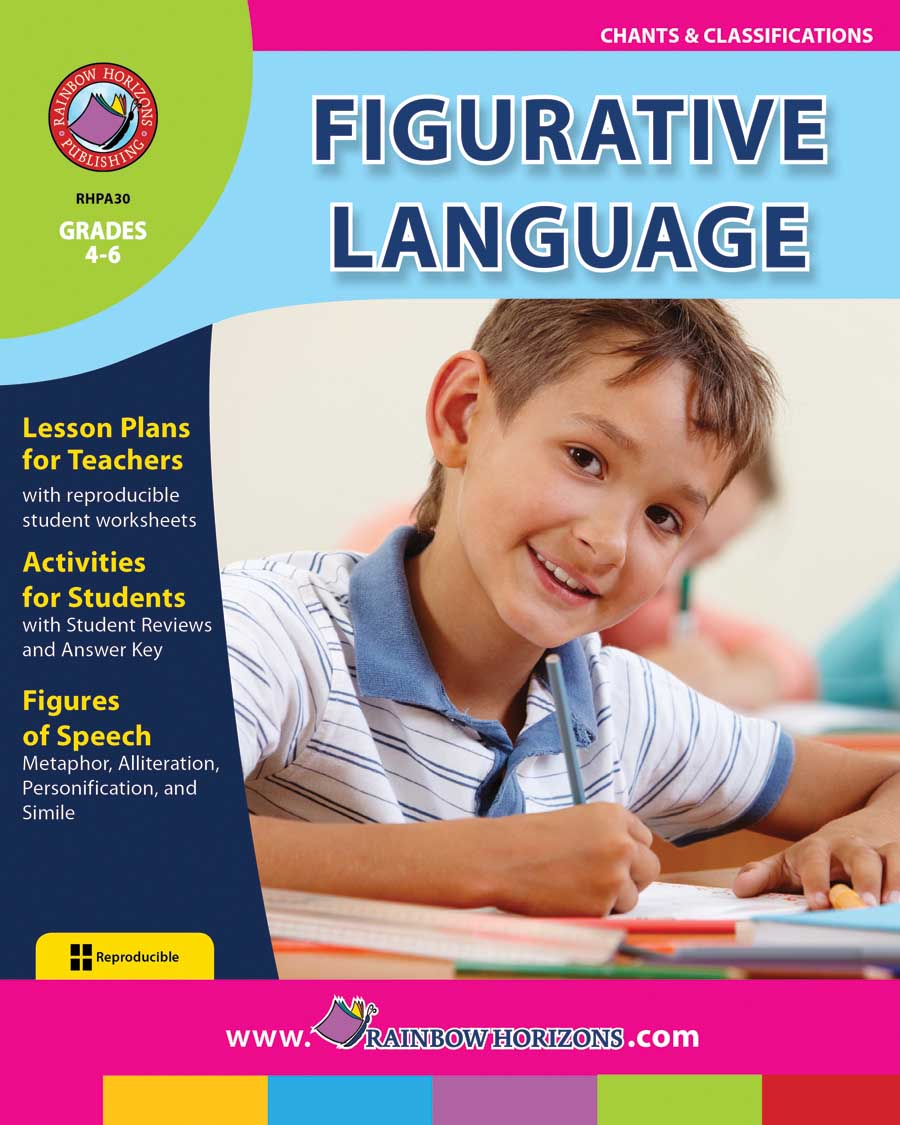 Figurative Language Gr. 4-6 - print book