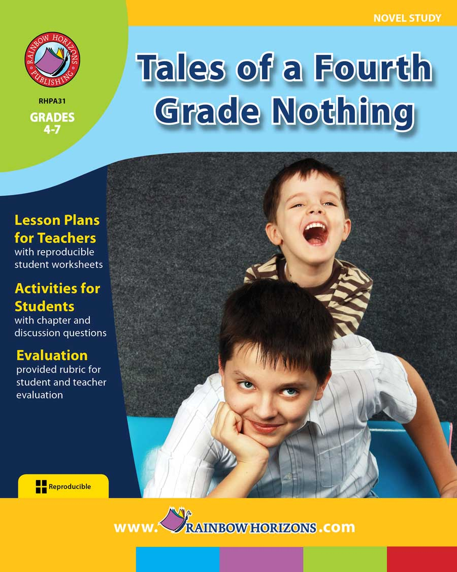 Tales of a Fourth Grade Nothing (Novel Study) Gr. 4-7 - print book