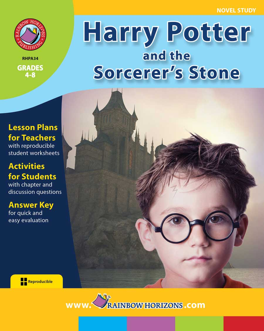 Harry Potter and the Sorcerer's Stone (Novel Study) Gr. 4-8 - print book