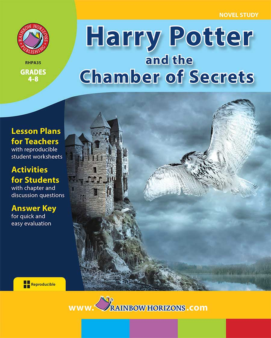 Harry Potter and the Chamber of Secrets (Novel Study) Gr. 4-8 - print book