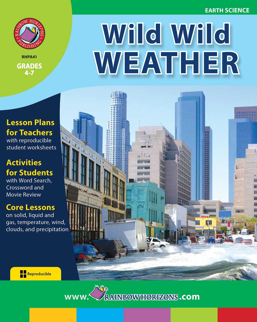 Wild Wild Weather Gr. 4-7 - print book