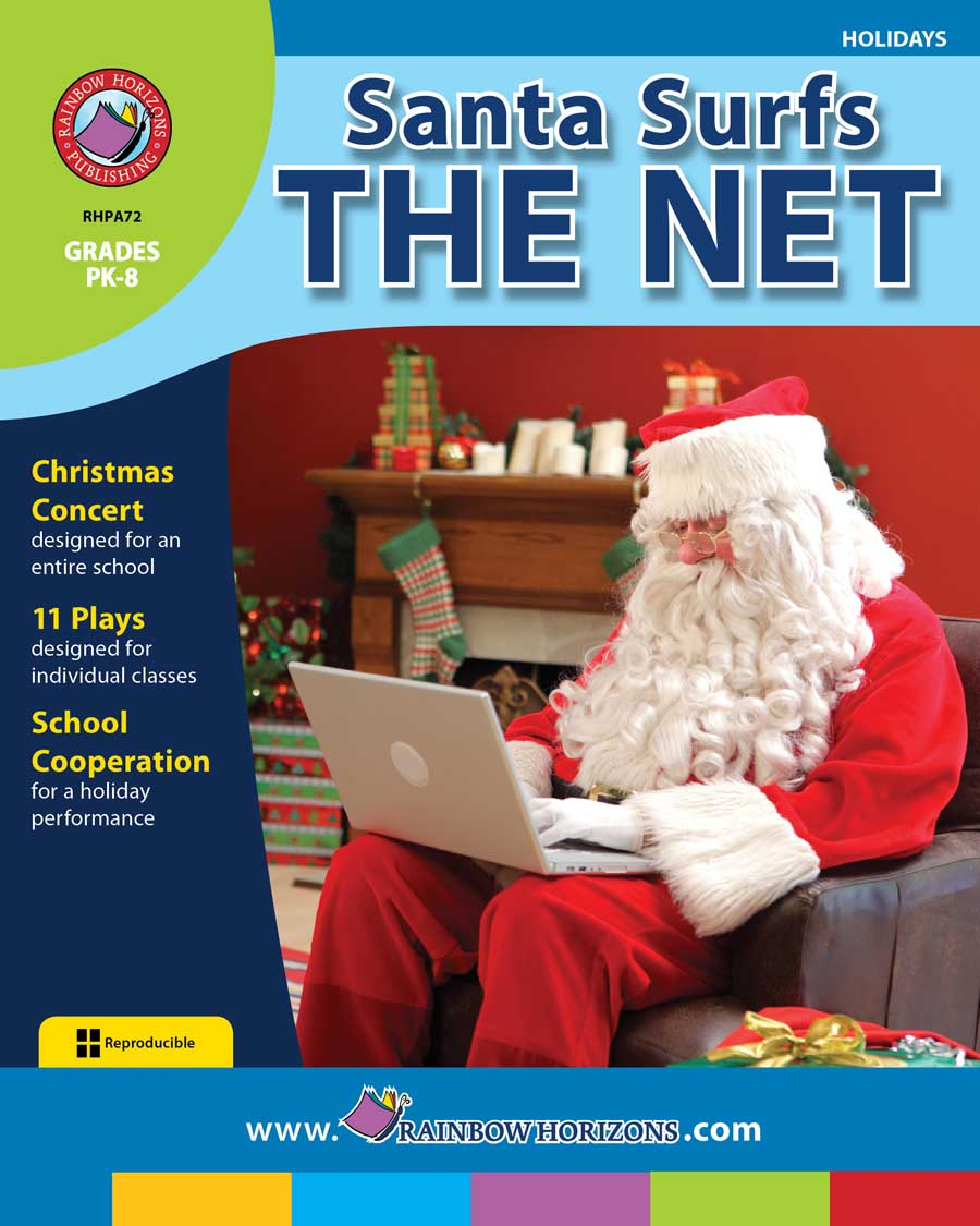 Santa Surfs the Net Gr. PK-8 - print book