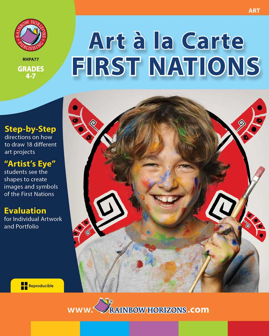 Art A La Carte: First Nations Gr. 4-7 - print book