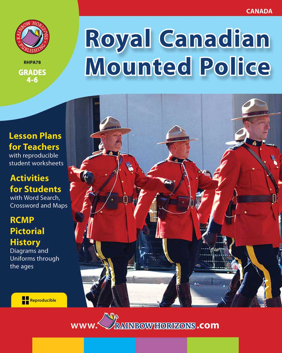 Royal Canadian Mounted Police Gr. 4-6 - print book