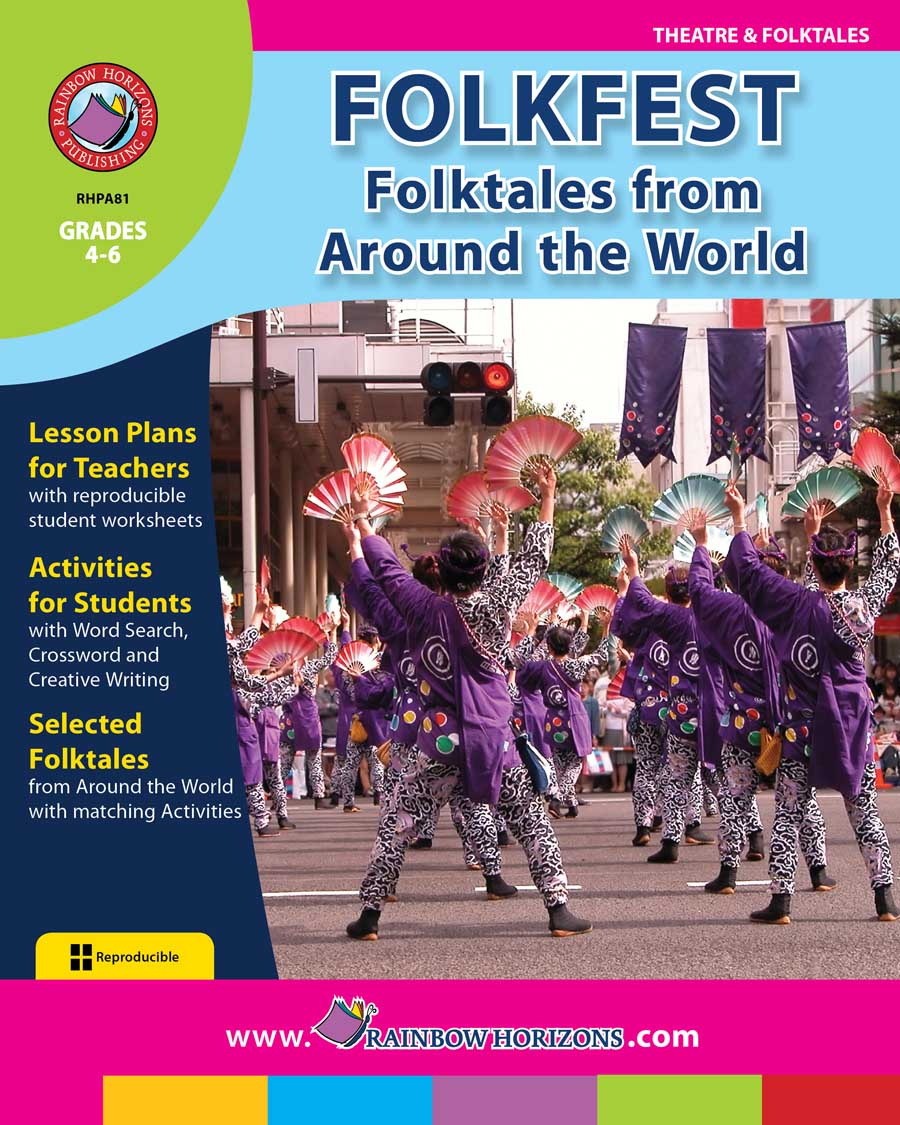 Folkfest: Folktales From Around The World Gr. 4-6 - print book