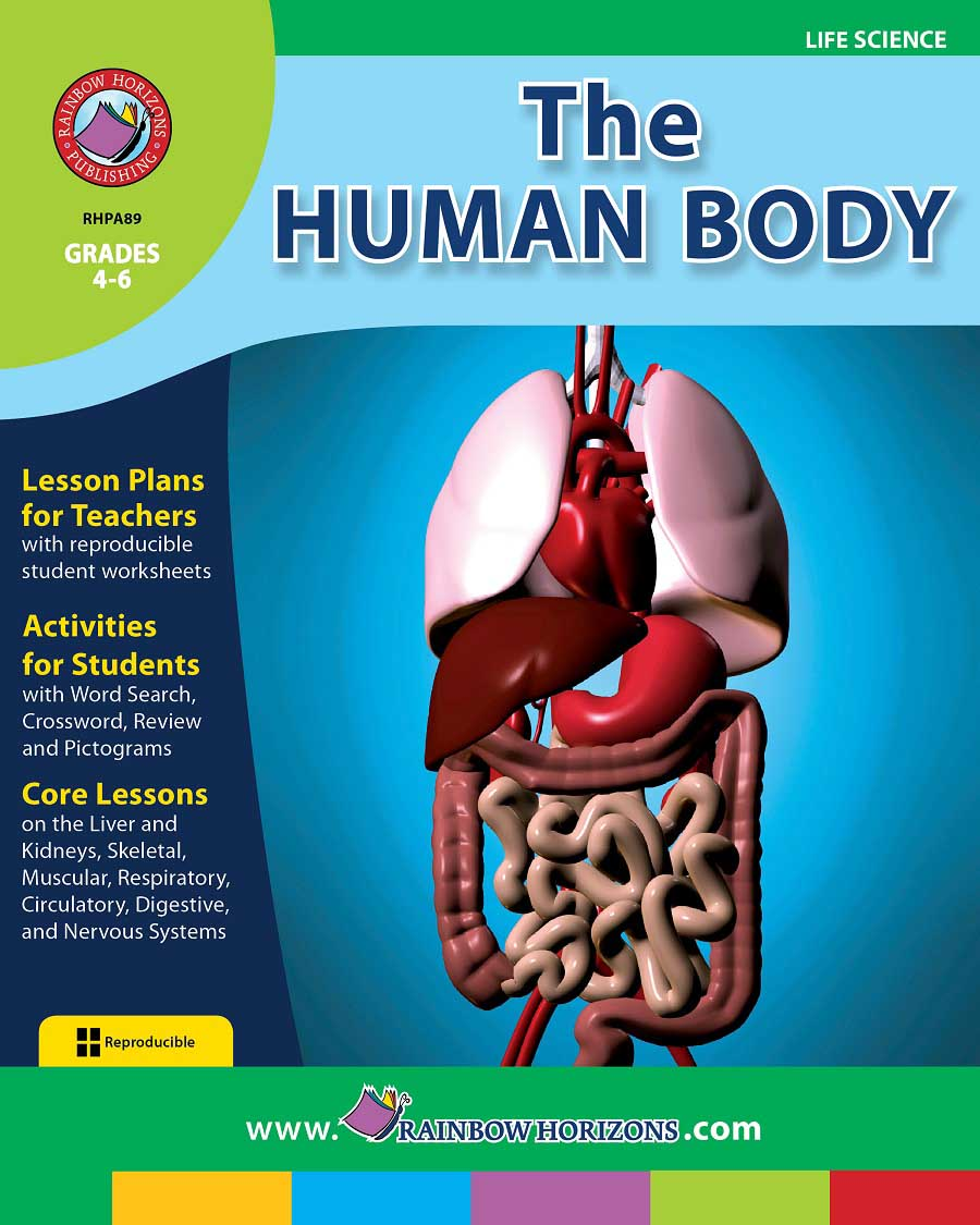 The Human Body Grades 4 To 6 Print Book Lesson Plan Ccp