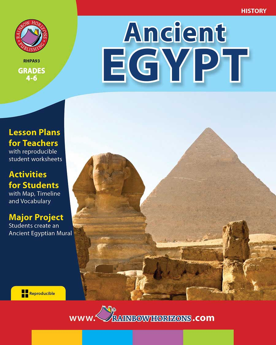 Ancient Egypt Gr. 4-6 - print book