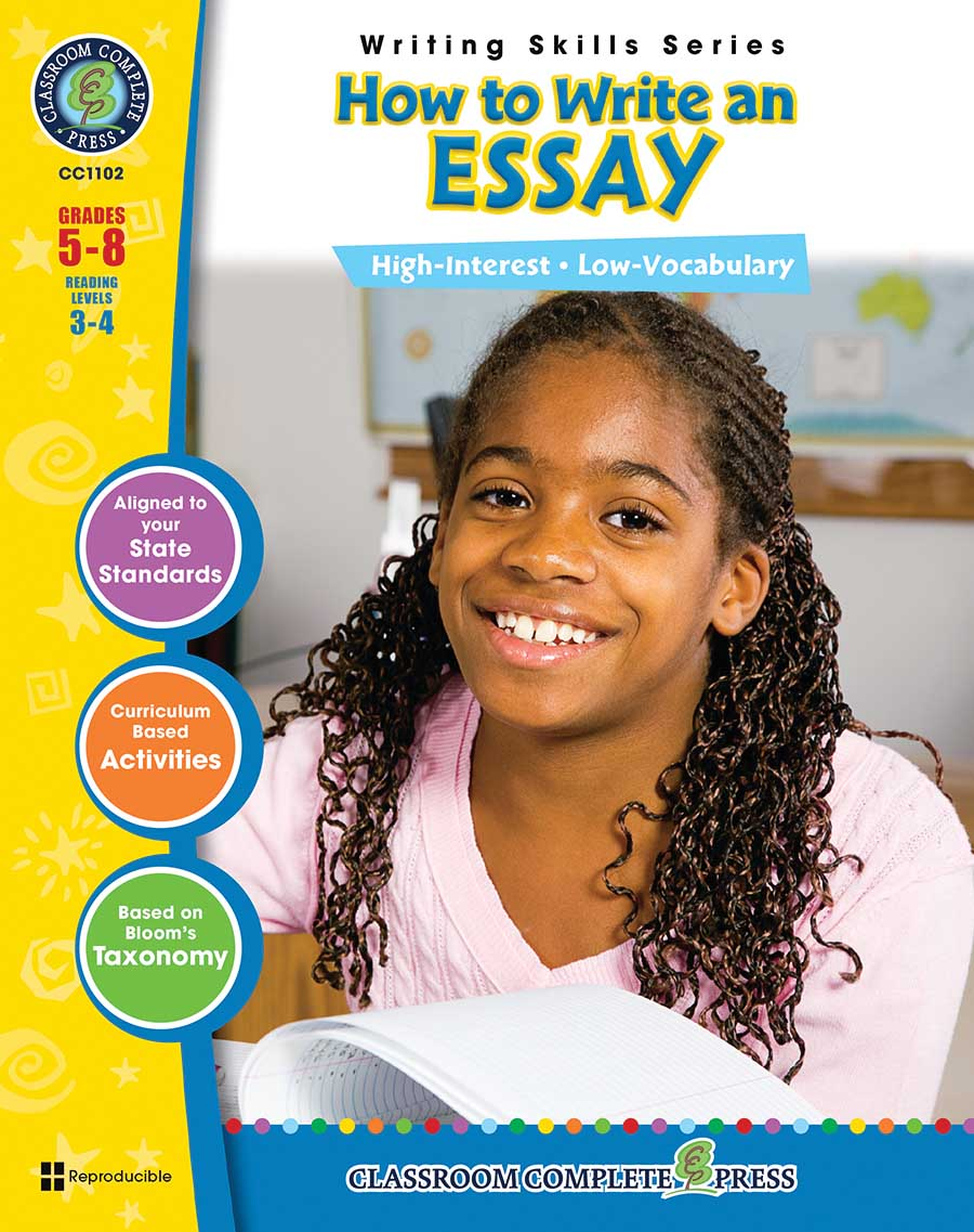 How to Write an Essay Gr. 5-8 - print book