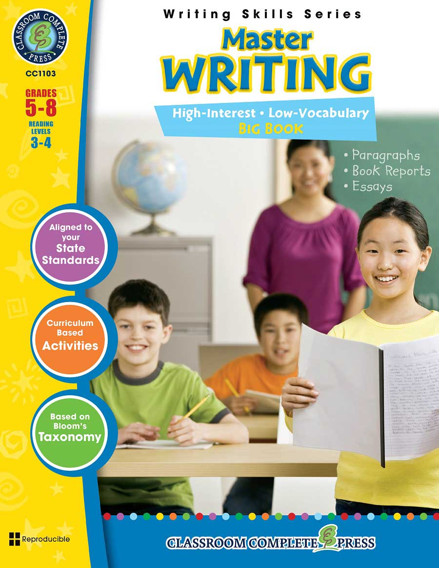 Master Writing Big Book Gr. 5-8 - print book