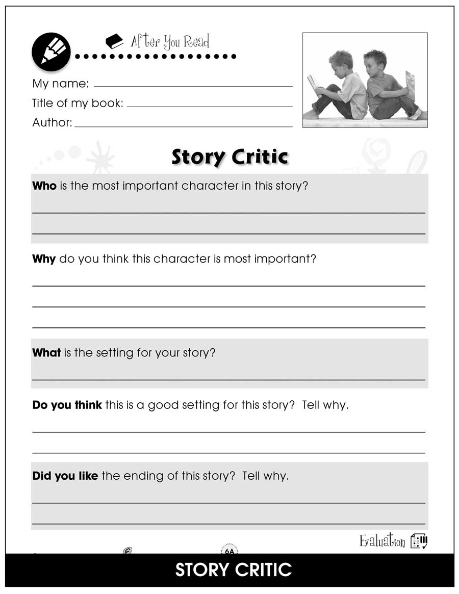 - Reading Response Forms - BONUS WORKSHEETS - Grades 1 To 2 - EBook