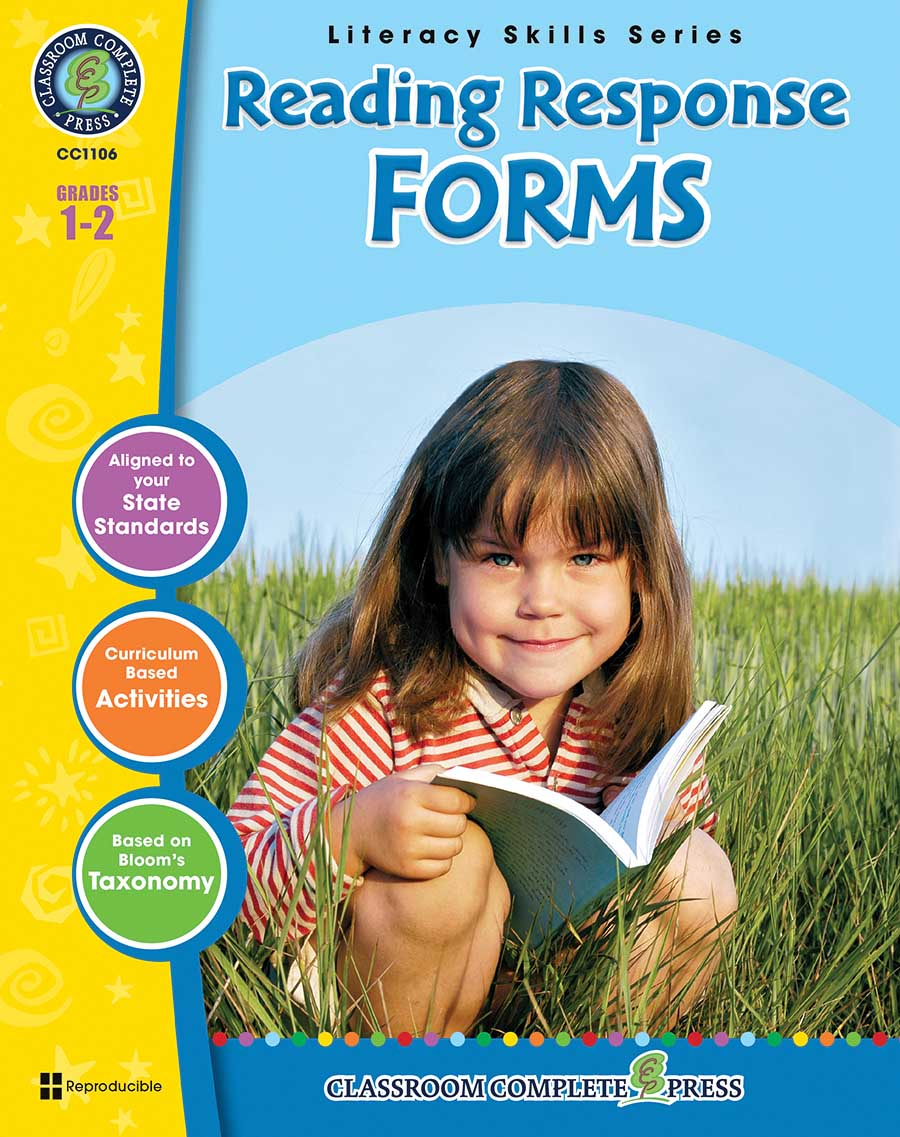 Reading Response Forms Gr. 1-2 - print book