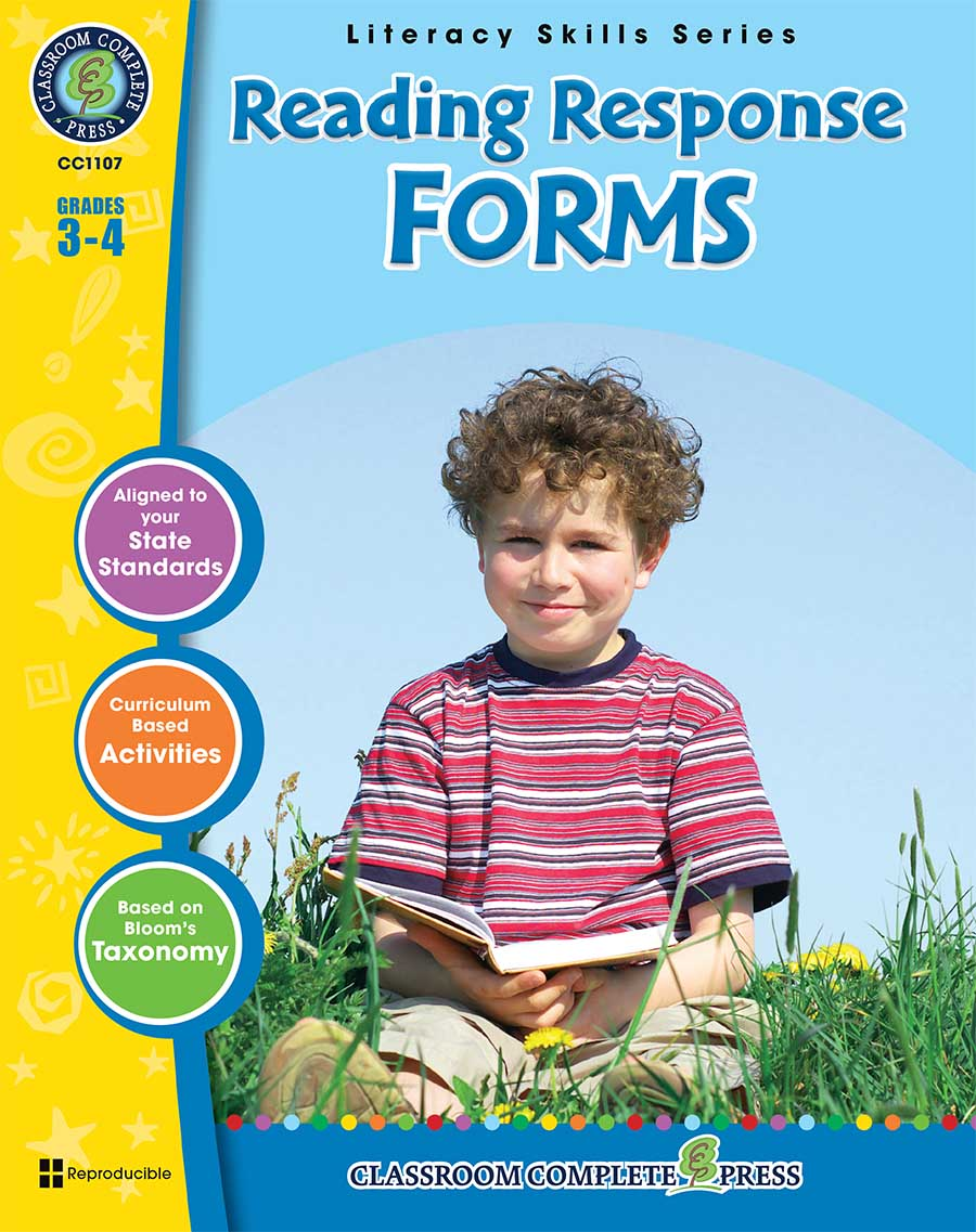 Reading Response Forms Gr. 3-4 - print book