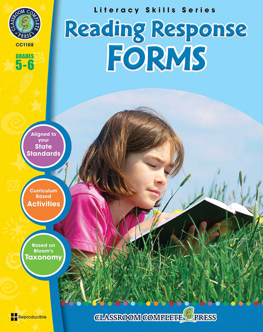 Reading Response Forms Gr. 5-6 - print book