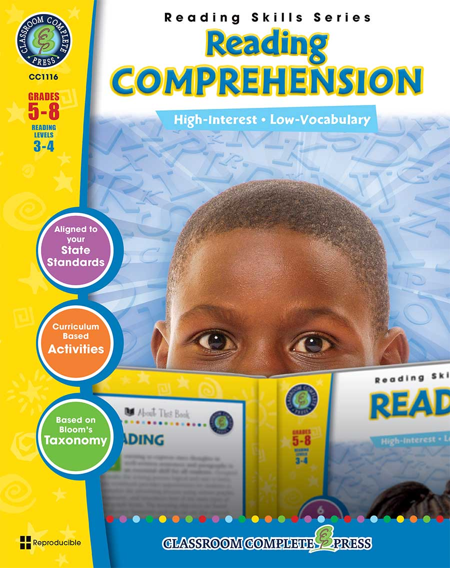 Reading Comprehension Gr. 5-8 - print book