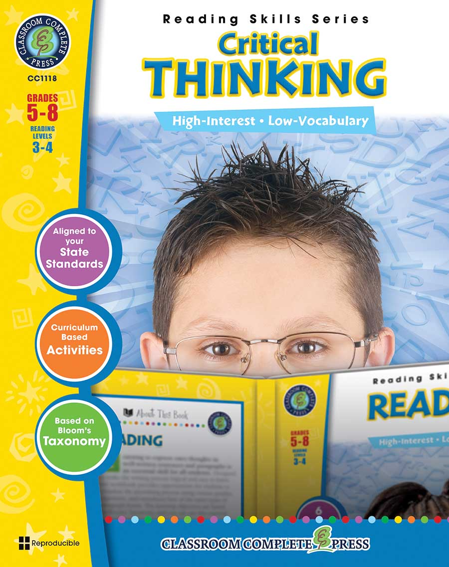 Critical Thinking Gr. 5-8 - print book
