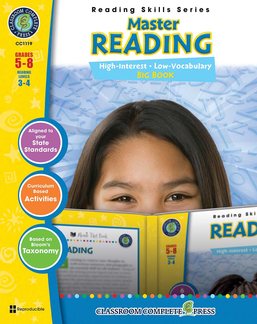 Master Reading Big Book Gr. 5-8 - print book