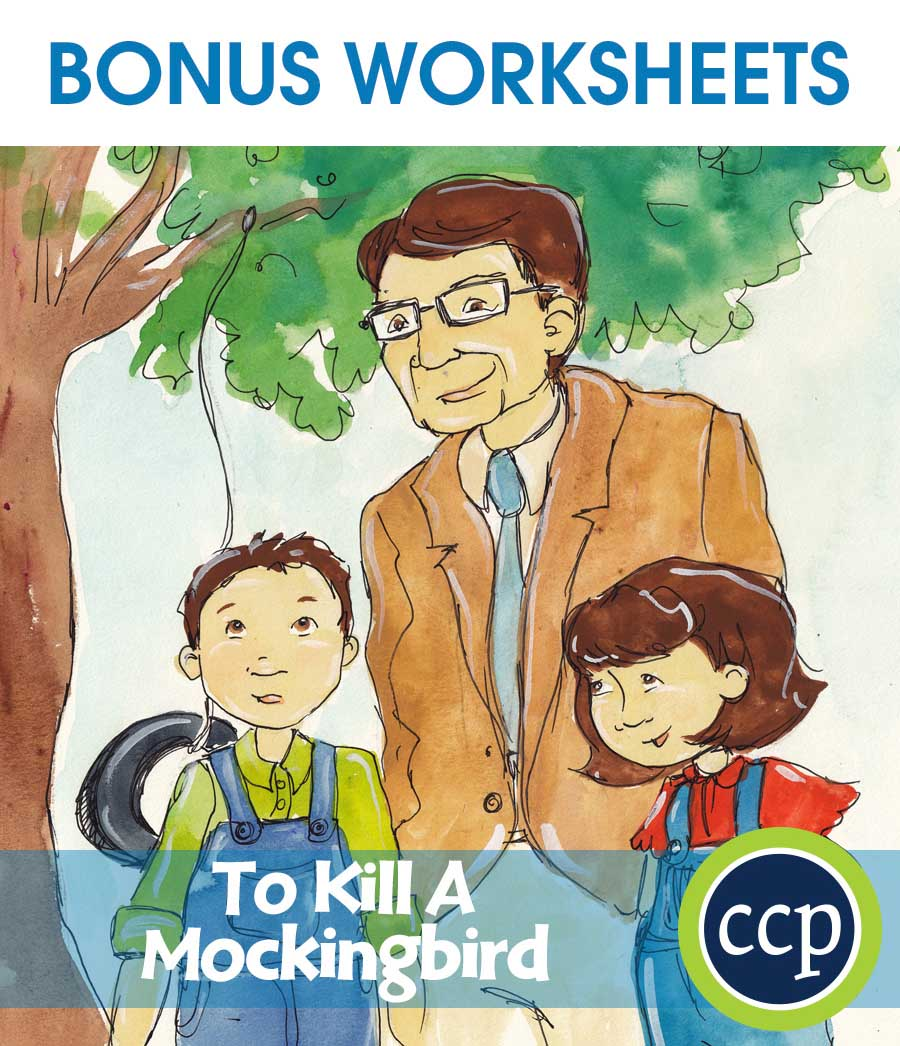 To Kill A Mockingbird - Literature Kit Gr. 9-12 - Literature Kit Gr. 9-12 - BONUS WORKSHEETS - eBook - eBook