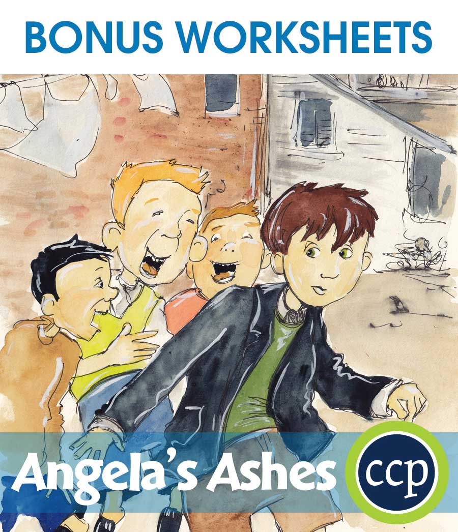 Angela's Ashes - Literature Kit Gr. 9-12 - BONUS WORKSHEETS - eBook