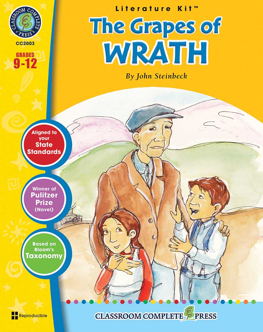 The Grapes of Wrath - Literature Kit Gr. 9-12 - print book