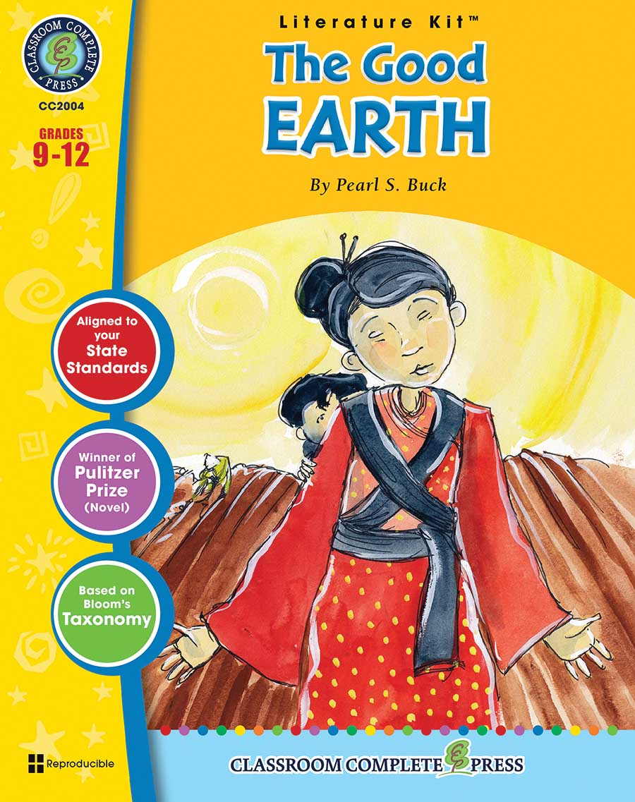 The Good Earth - Literature Kit Gr. 9-12 - print book