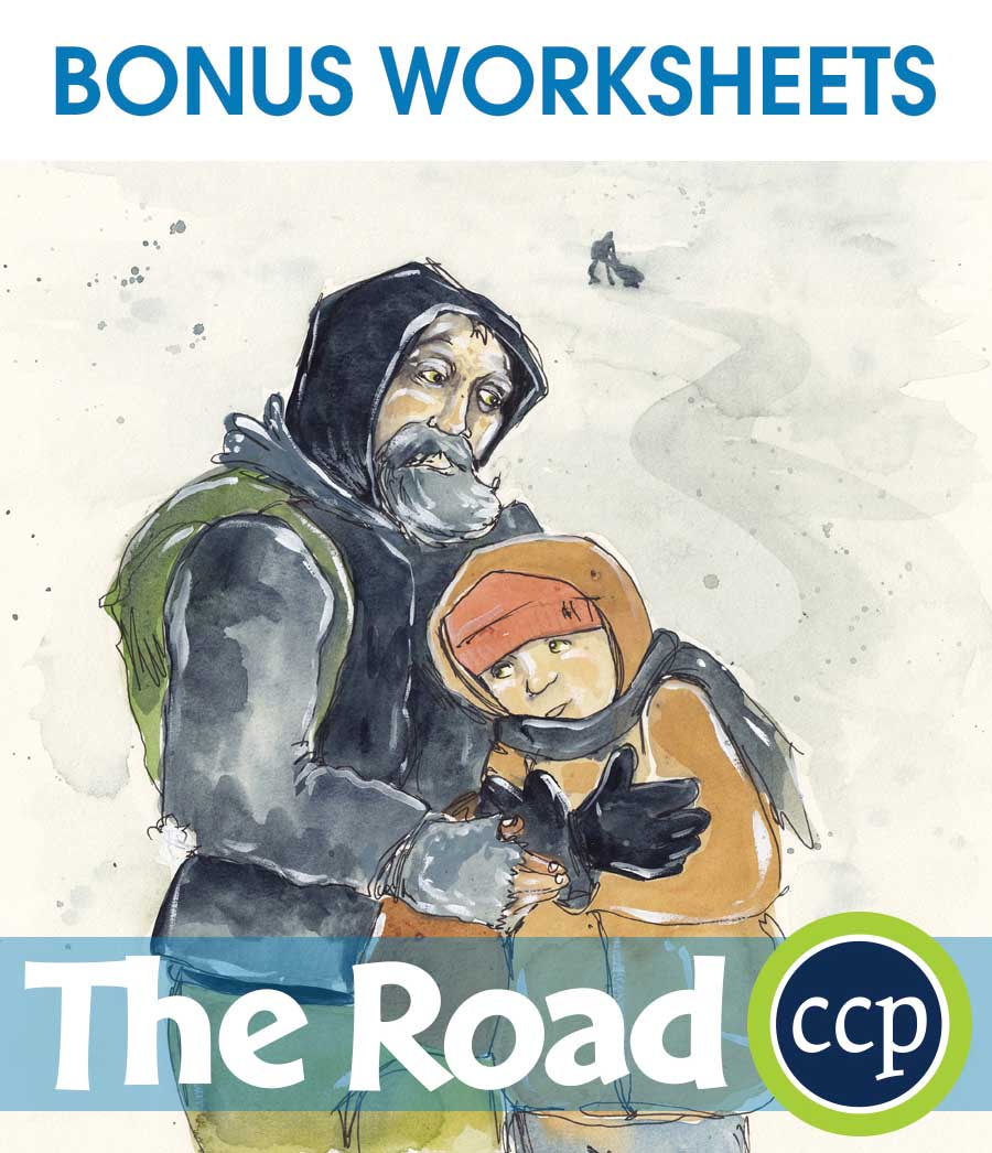 The Road - Literature Kit Gr. 9-12 - BONUS WORKSHEETS - eBook