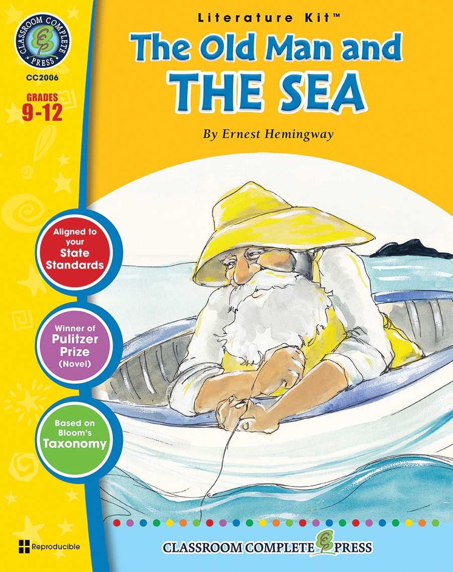 The Old Man and the Sea - Literature Kit Gr. 9-12 - print book