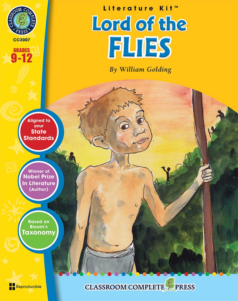 Lord of the Flies - Literature Kit Gr. 9-12 - print book