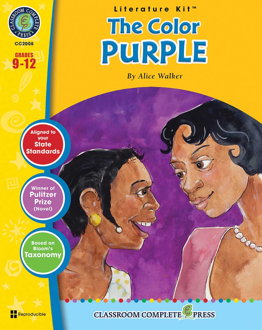 The Color Purple - Literature Kit Gr. 9-12 - print book