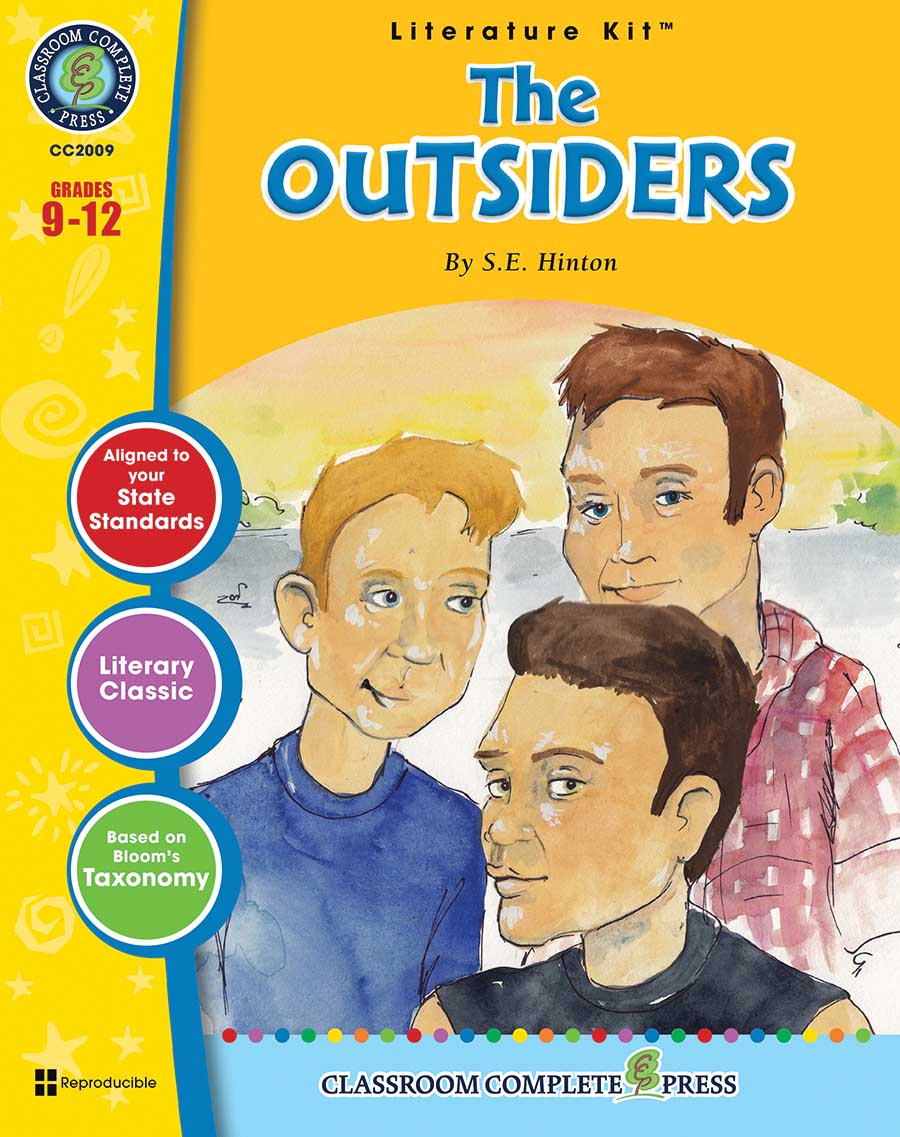 The Outsiders - Literature Kit Gr. 9-12 - print book