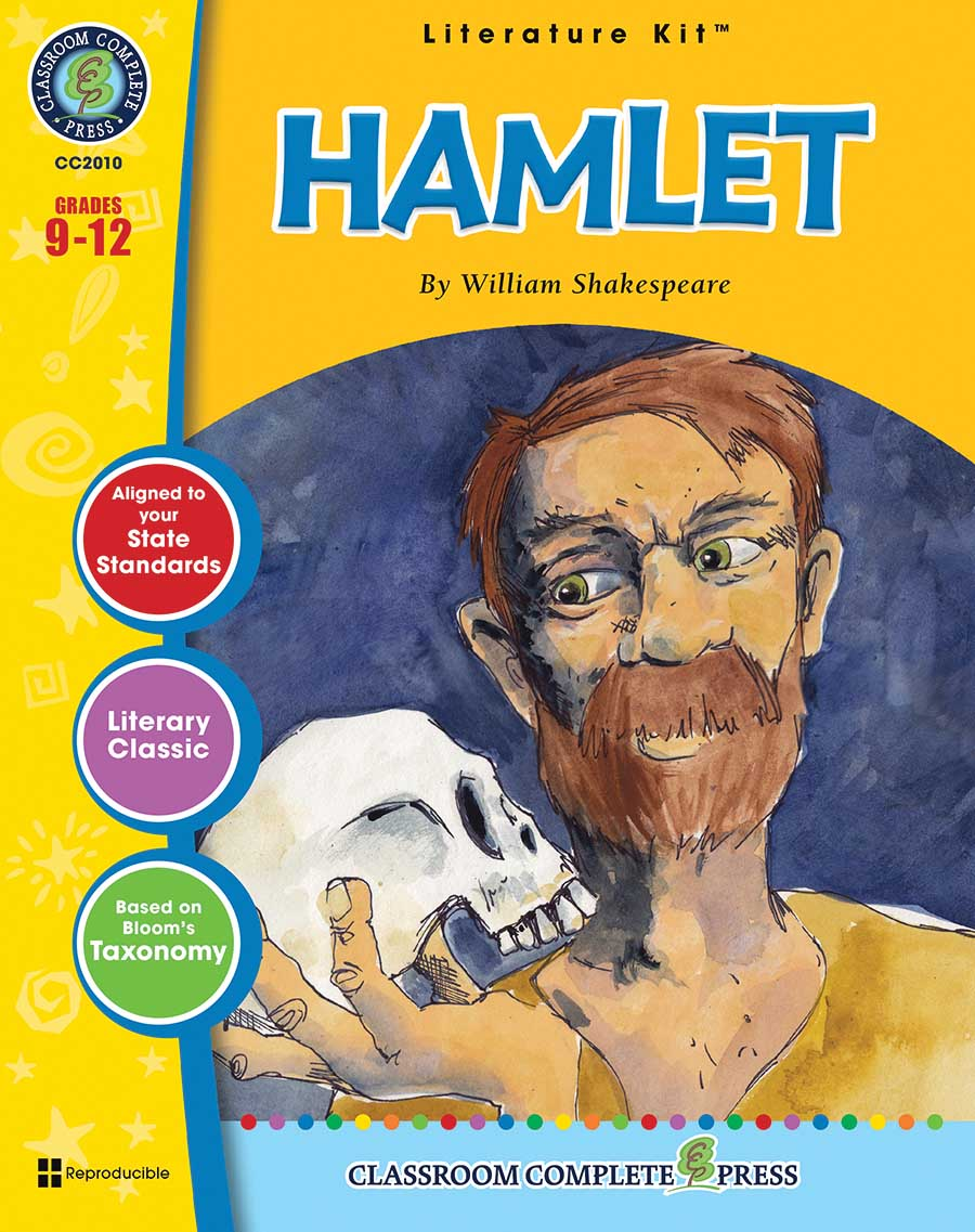Hamlet - Literature Kit Gr. 9-12 - print book