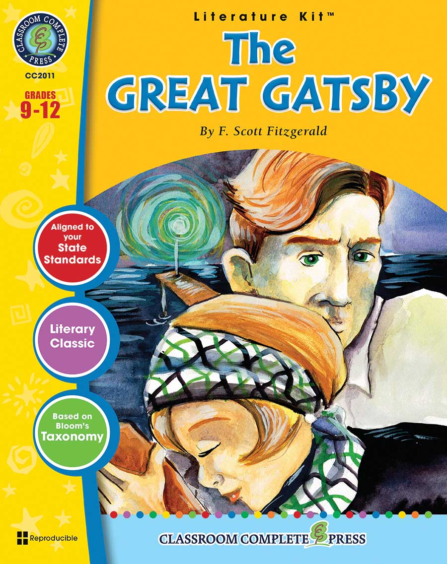 The Great Gatsby - Literature Kit Gr. 9-12 - print book